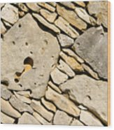 Rock Architecture Five Wood Print