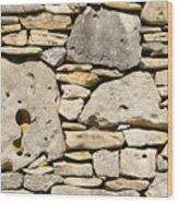 Rock Architecture Four Wood Print