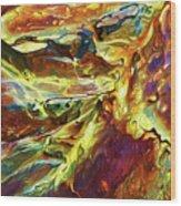 Rock Art 27 Wood Print by ABeautifulSky Photography