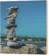 Rock Art A Memory Wood Print