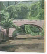 Rock Creek Bridge 5 Wood Print
