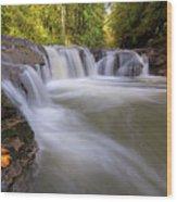 Rock Creek In Happy Valley Oregon Wood Print