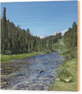 Rock Creek Wood Print by Kenneth Hadlock