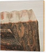 Rock Face Wood Print by Odd Jeppesen