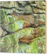 Rock Formation, Wv Wood Print