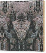 Rock Gods Elephant Stonemen of Ogunquit Wood Print