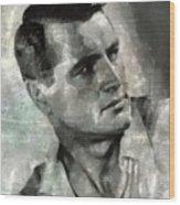 Rock Hudson Hollywood Actor Wood Print