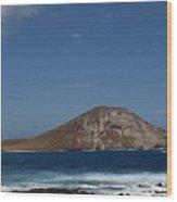 Rock Island Wood Print
