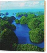 Rock Islands Wood Print