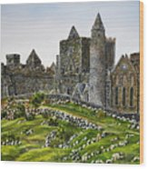 Rock Of Cashel Ireland Wood Print