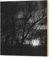 Rock River Wood Print