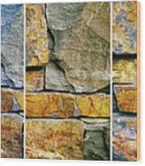 Rock Steady  Wood Print