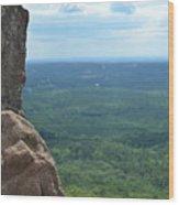 Rock Views Wood Print