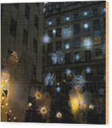 Rockefeller Center Christmas Wood Print