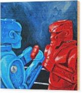 Rockem Sockem 2 The Rematch Wood Print