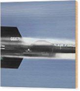 Rocket Ride Wood Print