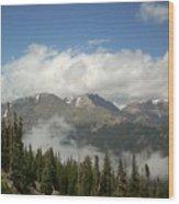 Rockies 1 Wood Print
