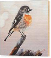 Rockin Robin  Wood Print