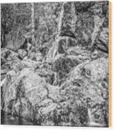 Rockin Water Wood Print