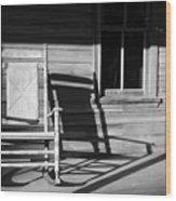 Rocking Chair Work A Wood Print