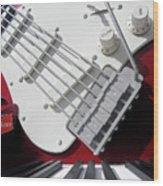 Rock'n Roller Coaster Aerosmith Wood Print