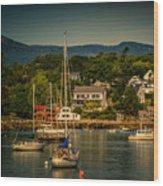 Rockport Harbor 3081 Wood Print