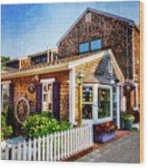 Rockport Ma Wood Print