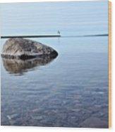 Rocks Of Lake Superior 10 Wood Print