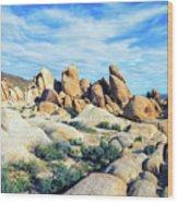 Rocks Upon Rocks Wood Print