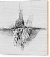 Rockscape 5 Wood Print