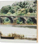 Rockville Bridge On The Susquehanna River Wood Print
