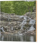 Rocky Falls Ozark National Scenic Riverways Dsc02788 Wood Print