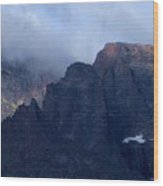 Rocky Mountain Mtns Co Wood Print