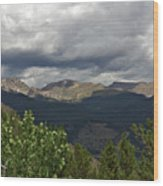 Rocky Mountain National Park 2 Wood Print