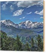Rocky Mountain National Park IIi Wood Print