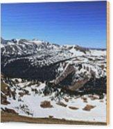 Rocky Mountain National Park Pano 2 Wood Print