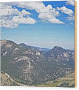 Rocky Mountain National Park Panoramic Wood Print