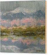 Rocky Mountain Spring Wood Print
