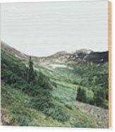Rocky Mountain Vibes Wood Print