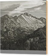 Rocky Mountain Wonders Wood Print