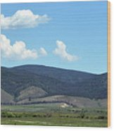 Rocky Mountains 3 Wood Print