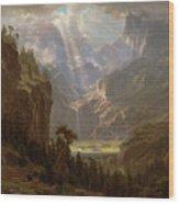 Rocky Mountains, Lander's Peak Wood Print