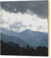 Rocky Mts. Mtn M 201 Wood Print