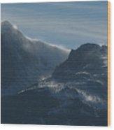 Rocky Mts Mtn M 202 Wood Print