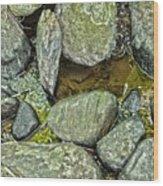 Rocky Nature Wood Print