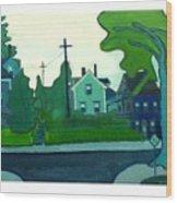 Rocky Neck Art Colony East Gloucester Ma Wood Print