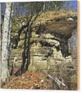 Rocky Outcrop Wood Print