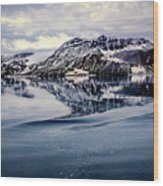 Rocky Outrigger Wood Print