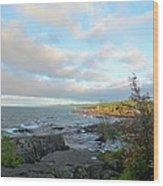 Rocky Point Wood Print