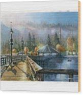 Rocky Point Park Wood Print